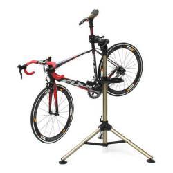 Soporte Pie Trabajo Bicicleta Taller Bike Hand Yc-300bh 360°