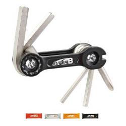 Multiherramienta Bicicleta Taller 6 Func. Super B Tb - 9860