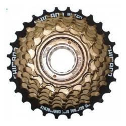 Piñon Shimano 7v A Rosca Bicicleta Mountain Bike Tz21 14-28
