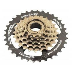 Piñon Shimano 6 Vel A Rosca Bicicleta Mtb Tz30 14-34