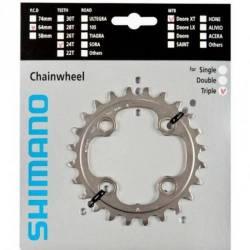 Engranaje Bicicleta Mtb Shimano Xt M780 Bcd 64mm 24 Dientes