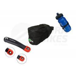 Accesorios Mtb Bicicleta Shimano + Protector Palanca + Bolso
