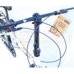 Bicicleta Plegable Aluminio Rodado 20 7 Vel. Super Liviana