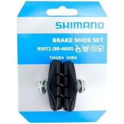 Patines Freno Bicicleta Ruta Sora Tiagra Shimano R50t2 4600