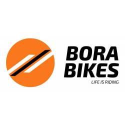 Pie Apoyo Bicicleta Soporte Al Eje C  Traba Rodado 26 Bora