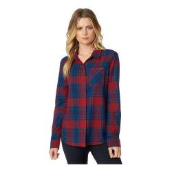 Camisas Mujer Importadas Fox Kick It Ls Flannel Bora Bikes