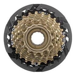 Piñon Shimano 7 Velocidades Rosca Bicicleta Mtb Tz500 14-28
