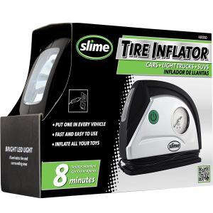 Compresor Aire Portatil Slime 40050 Camioneta Suv Auto Moto