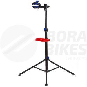 Soporte Pie Trabajo Bicicleta Taller 360 C/ Bandeja Bora