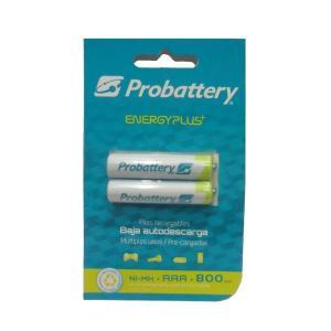 Pilas Recargables Aaa Probattery Bilster X 2u Baja Descarga