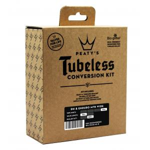 Kit Conversion Tubeless Bici Dh Enduro Peatys 35mm Valvulas