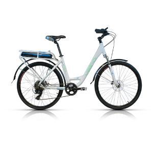 Bicicleta Electrica E Bike Vairo E Metro R 26 8 Vel Altus